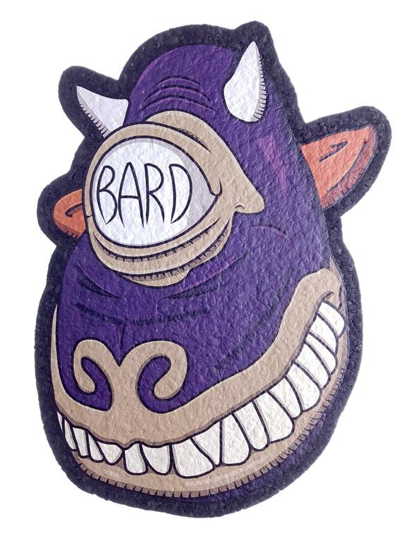 MOODMATS - Limited Edition Artist Series Bong Pad & Dab Rig Coaster - Bard Glass