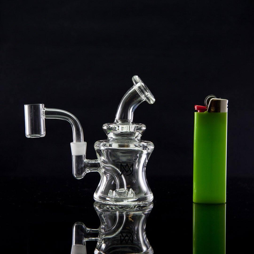 Mj Arsenal - Jammer Mini Rig W/ Mini Quartz Banger - The Dab Lab
