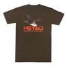 Heybo Outdoors Flying Wood Duck Short Sleeve T-shirt