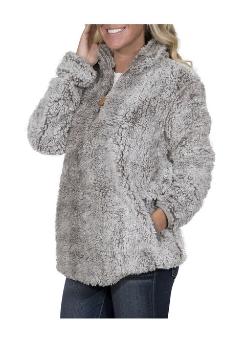 Simply Southern Women's Sherpa Pullover