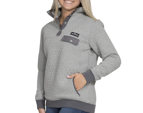 Simply Southern Women's Quilted Pullover