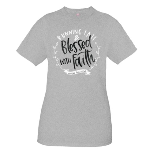Simply Faithful Women's Running Late Short Sleeve T-shirt