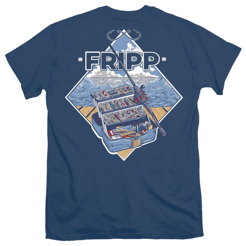Fripp Outdoors Tackle Box Short Sleeve T-shirt