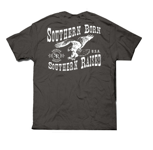 Southern Raised Eagle Short Sleeve Pocket T-shirt