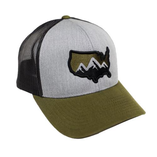 State Homegrown SHG America Logo Trucker Hat