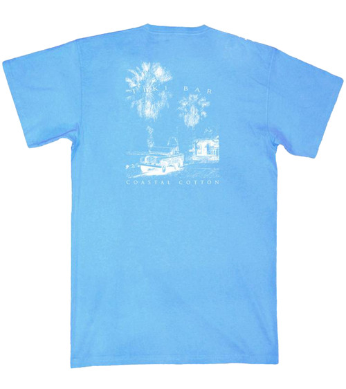 Coastal Cotton Clothing Tiki Bar Short Sleeve Pocket T-shirt
