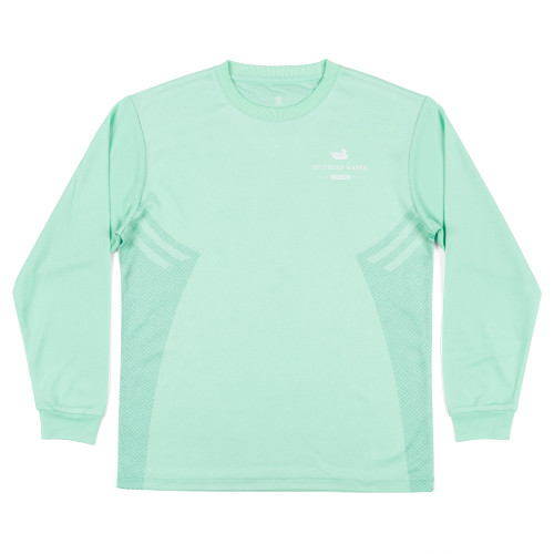 Southern Marsh YOUTH Gulf Stream Performance Long Sleeve T-Shirt
