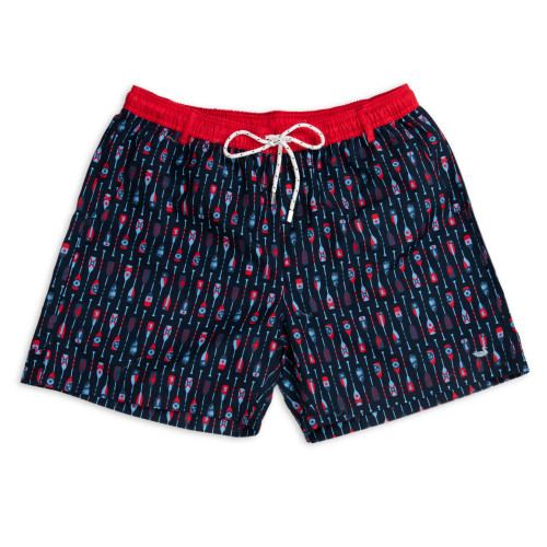Southern Marsh Paddles Dockside Swim Trunk