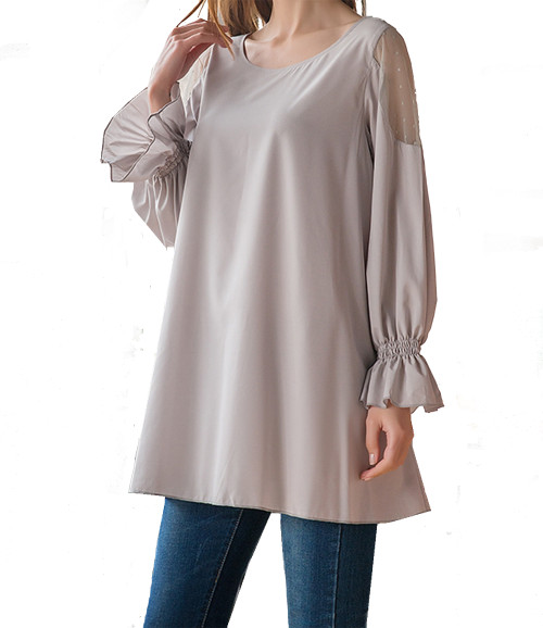 SassyBling Cold Shoulder Blouse