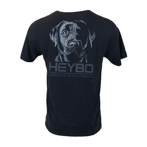 Heybo Outdoors Back In Black Short Sleeve T-shirt