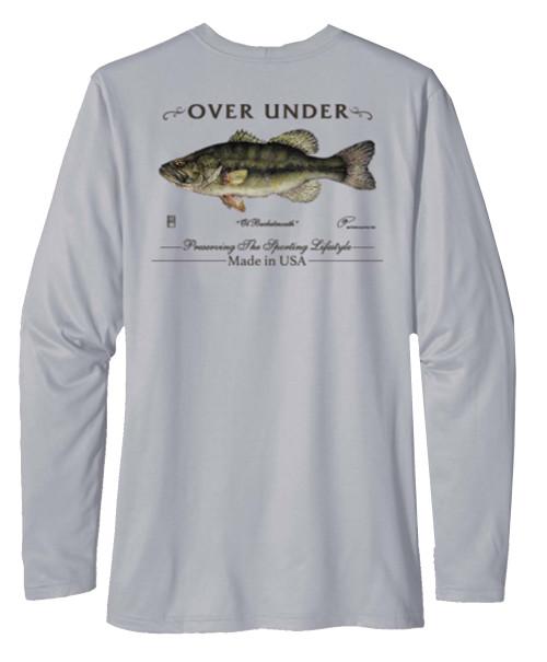 Over Under Tidal Tech Bucketmouth Long Sleeve Performance T-shirt