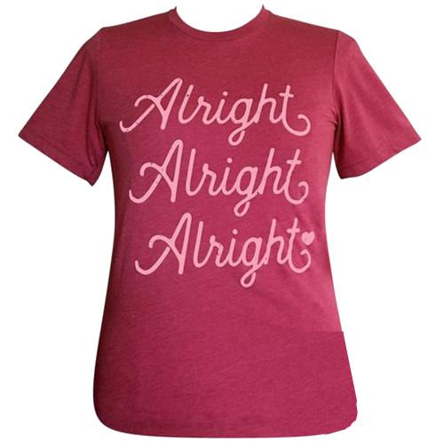 Girlie Girl Originals Lulu Mac Collection Alright Alright Alright Short Sleeve T-Shirt