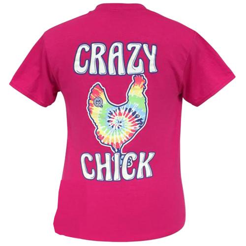 Girlie Girl Originals Tie Dye Crazy Chick Short Sleeve T-Shirt