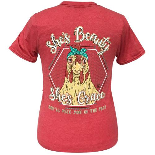 Girlie Girl Originals Beauty Grace Hen Short Sleeve T-Shirt