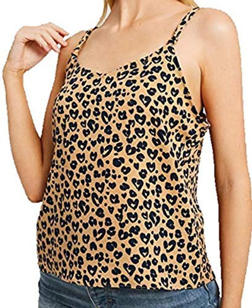Wishlist Leopard Print Cami Top