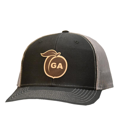 Lost Wando Georgia Peach Leather Patch Hat