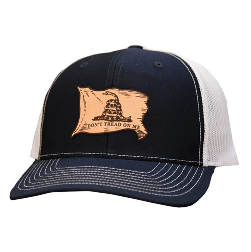 Lost Wando Don't Tread On Me Flag Leather Patch Hat