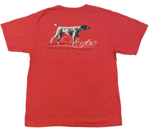 Heybo Vintage Pointer Dedicated To The Pursuit Pocket T-Shirt