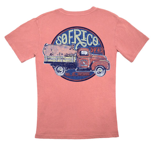 Southern Fried Cotton Southern Fried BBQ Short Sleeve Pocket T-shirt