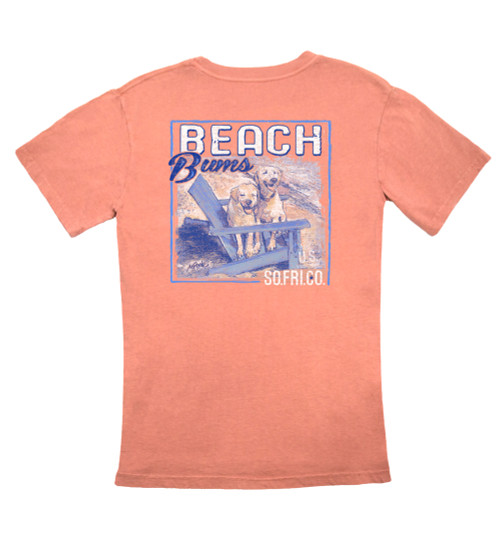 Southern Fried Cotton Beach Bums Short Sleeve Pocket T-shirt