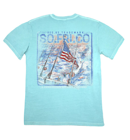 Southern Fried Cotton Shoot the Breeze Short Sleeve Pocket T-shirt