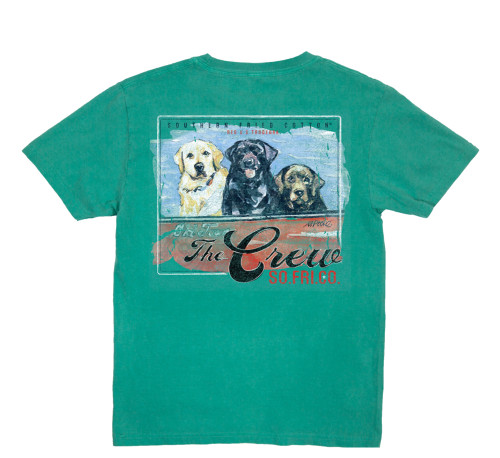 Southern Fried Cotton The Whole Crew Youth Short Sleeve Pocket T-shirt