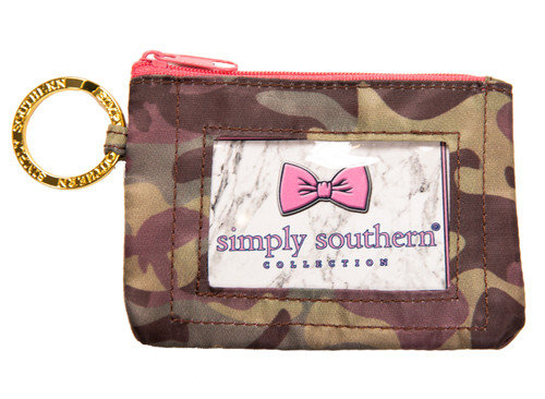 Simply Southern Keychain ID Case & Change Purse