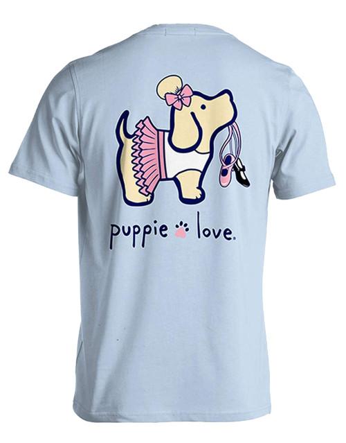Puppie Love Rescue Dancer Pup Adult Unisex Short Sleeve T-Shirt