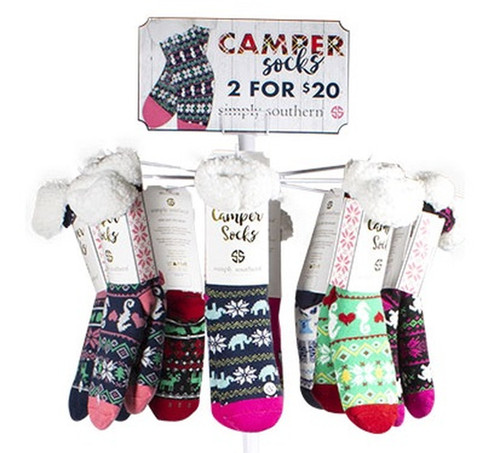 Simply Southern Camper Socks