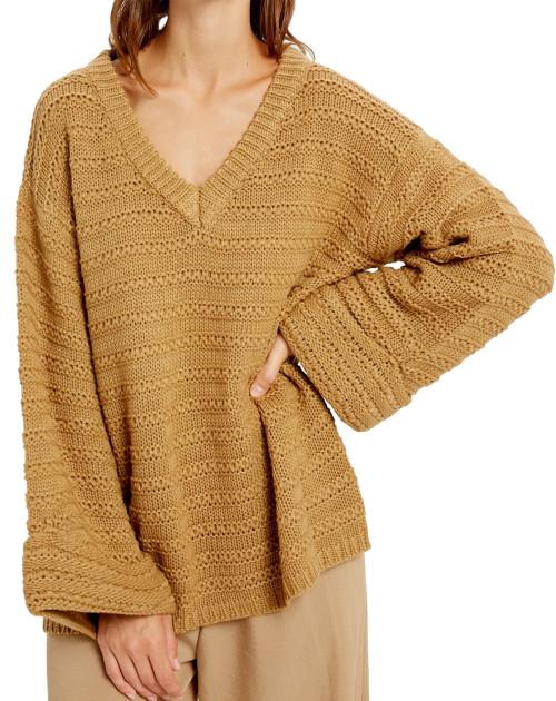 Wishlist Oversized V-Neck Sweater