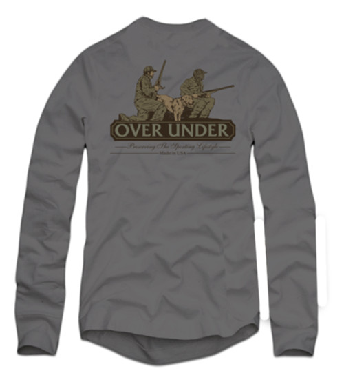 Over Under Long Sleeve Man's Best Friend T-Shirt
