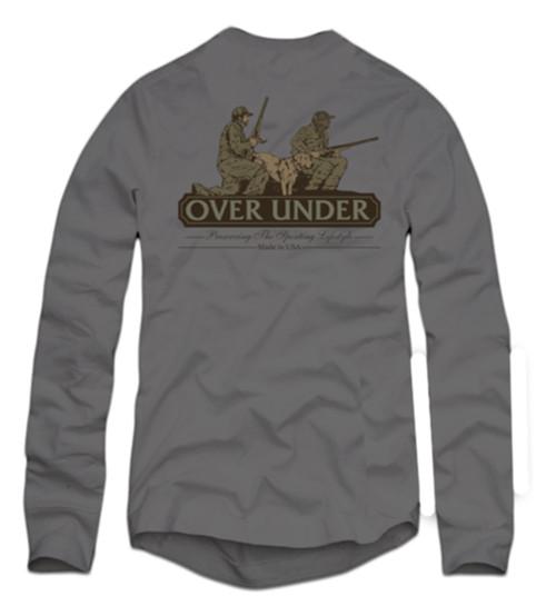 Over Under Long Sleeve Man's Best Friend T-Shirt