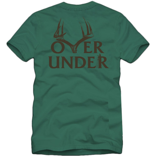 Over Under Short Sleeve Bowhunter T-Shirt