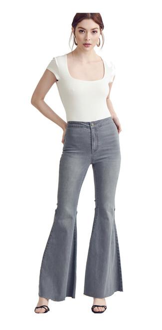 Wishlist High Rise Flare Jeans
