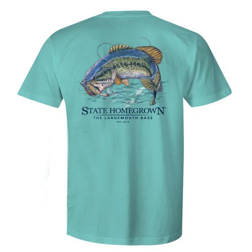 State Homegrown Largemouth Bass Short Sleeve T-shirt