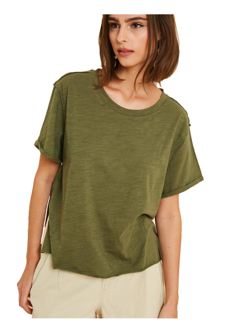 Wishlist Women's Washed Knit T-shirt