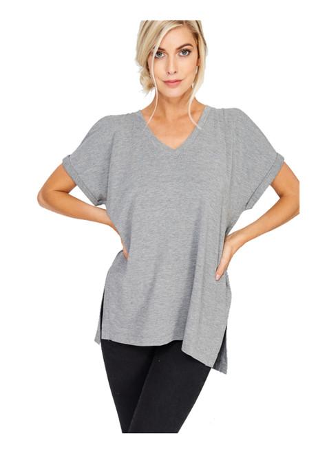 Wishlist Short Sleeve Cold Shoulder T-shirt