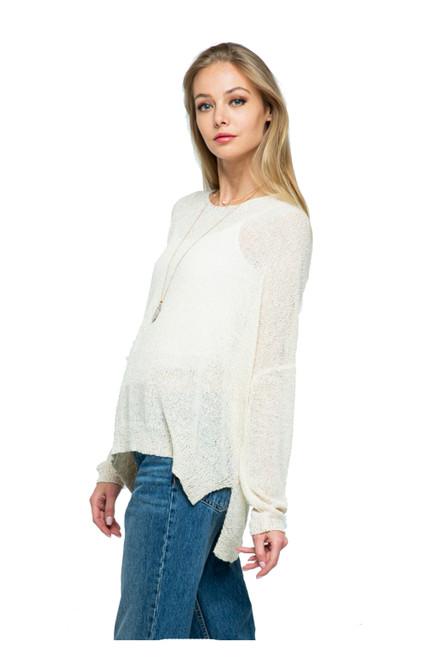 Cozy Casual Drop Shoulder Pullover