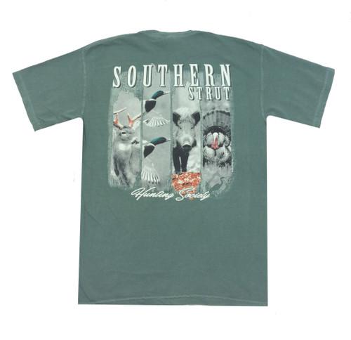 Southern Strut 4 Hunts Comfort Color Short Sleeve T-shirt