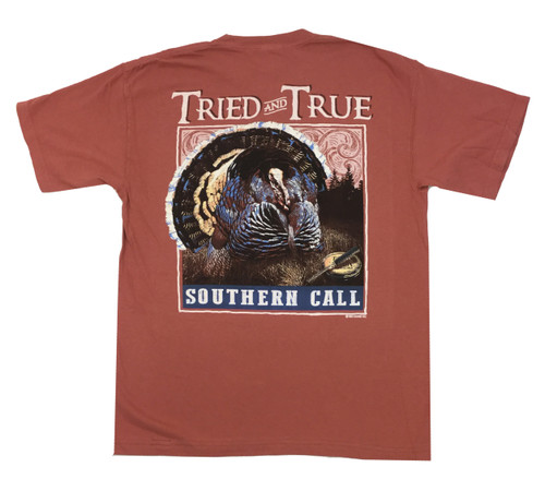 Tried and True Comfort Color Southern Call Short Sleeve T-shirt