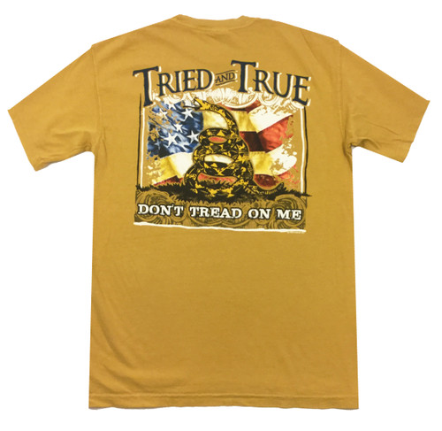 Tried and True Comfort Color Don't Tread Short Sleeve T-shirt