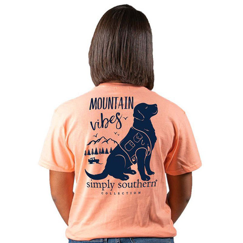 Simply Southern Preppy Collection Mountain Vibes Short Sleeve T-shirt