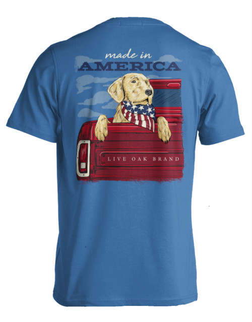Live Oak Made in America Short Sleeve T-Shirt