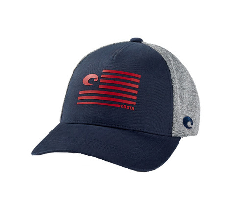 Costa Del Mar Pride Logo Trucker Hat