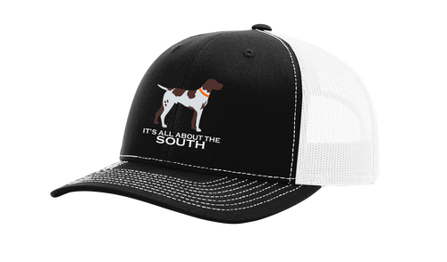 It's All About The South Pointer Mesh Back Trucker Hat