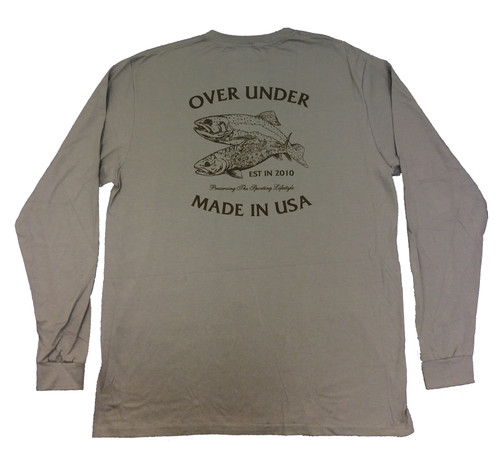 Over Under Brown Brookie Long Sleeve T-Shirt