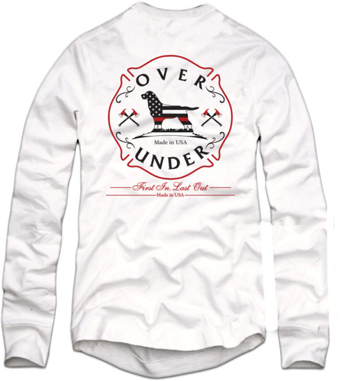 Over Under First In Last Out Long Sleeve T-Shirt