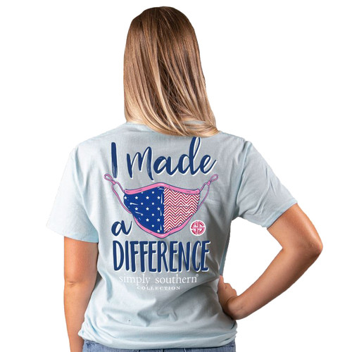 Simply Southern I Made A Difference Short Sleeve T-Shirt