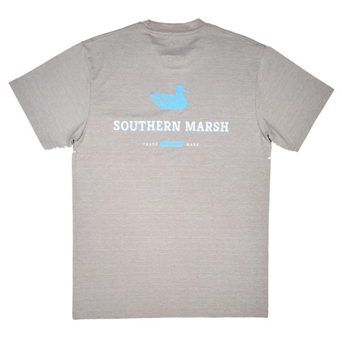 Southern Marsh FieldTec Heathered - Trademark Short Sleeve T-Shirt