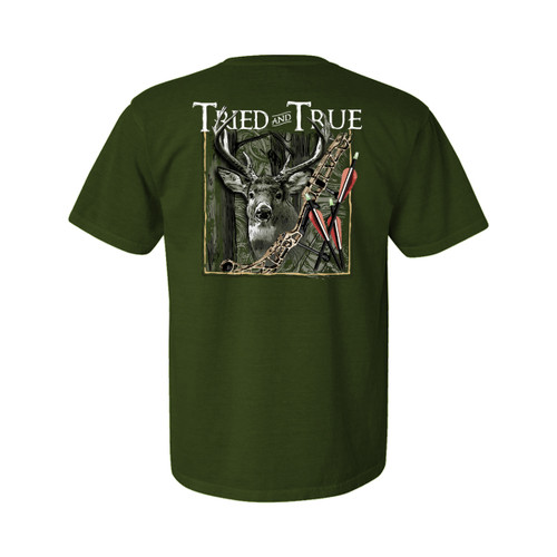 Tried and True Bow Hunting Unisex Comfort Colors Shirt Sleeve T-Shirt
